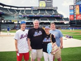 The O'Donnell Family at Citi Field
