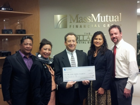 Mass Mutual check presentation 2012